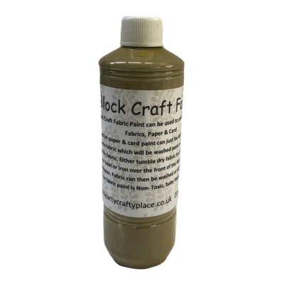 500ml Latte Fabric Paint