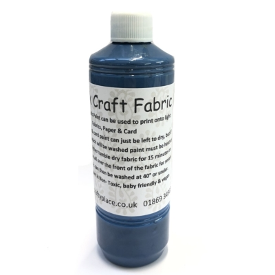 500ml Midnight Blue Fabric Paint