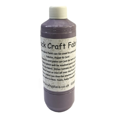500ml Violet Fabric Paint