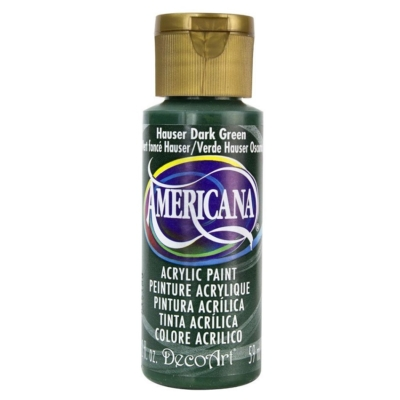 Acrylic Paint- Hauser Dark Green