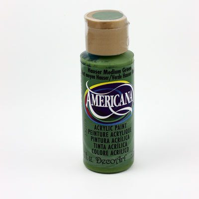 Acrylic Paint- Hauser Medium Green
