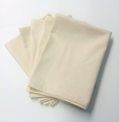 Pack of 5 Organic Cotton Tea Towels