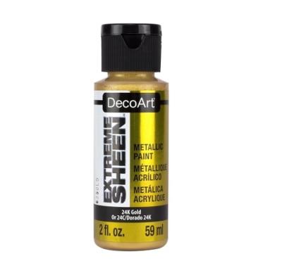 Acrylic Metallic Paint- 24K Gold