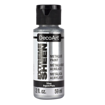 Acrylic Paint Metallic- Extreme Sheen Silver
