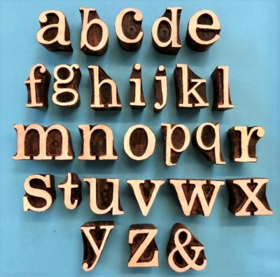 Alphabet Set- Fancy Lowercase