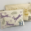 Personalised Block Printed Pouches