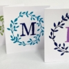 Personalised Wreath Cards