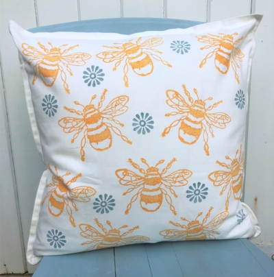 Bumble Bee Cushion Printing Kit