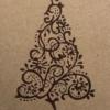 Elegant Christmas Tree Card Sample