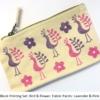 Block Printing Set £25.00 Kit- Bird & Flower