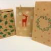 Block Printed Paper Gift Bags