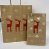 Block Printed Paper Bags