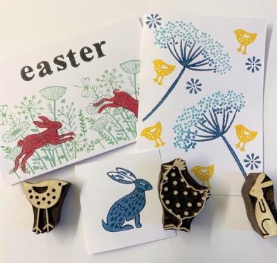 Easter Block Printing Workshop