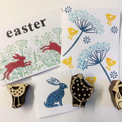 Easter Block Printing Workshop