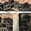 Large Handled Traditional Indian Printing Block in Bagru, India