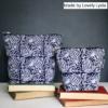 Block Printing Dark Fabrics- Made by Lovely Lydia