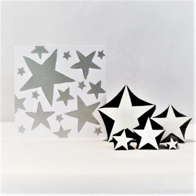 Solid Stars Printing Blocks
