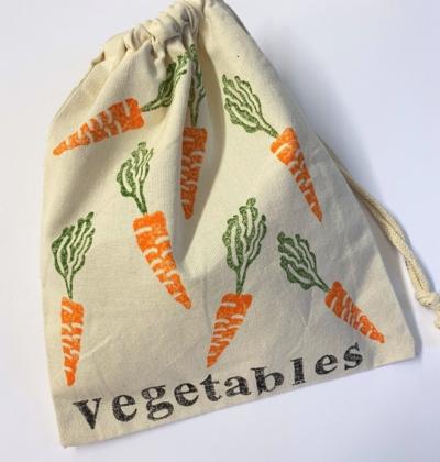 Fruit & Vegetable Bag Block Printing Workshop