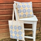 Moroccan Tile Block Printing Project