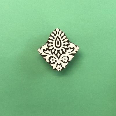 Indian Wooden Printing Block - Ethnic Motif