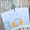 Meadow Scene Block Printed Napkins