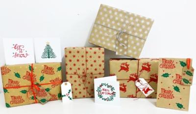 Christmas Block Printing