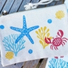 Sea Life Printed Zip Purse