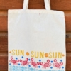 Sea Side Printed Tote Bag