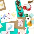 Easter Block Printing Projects
