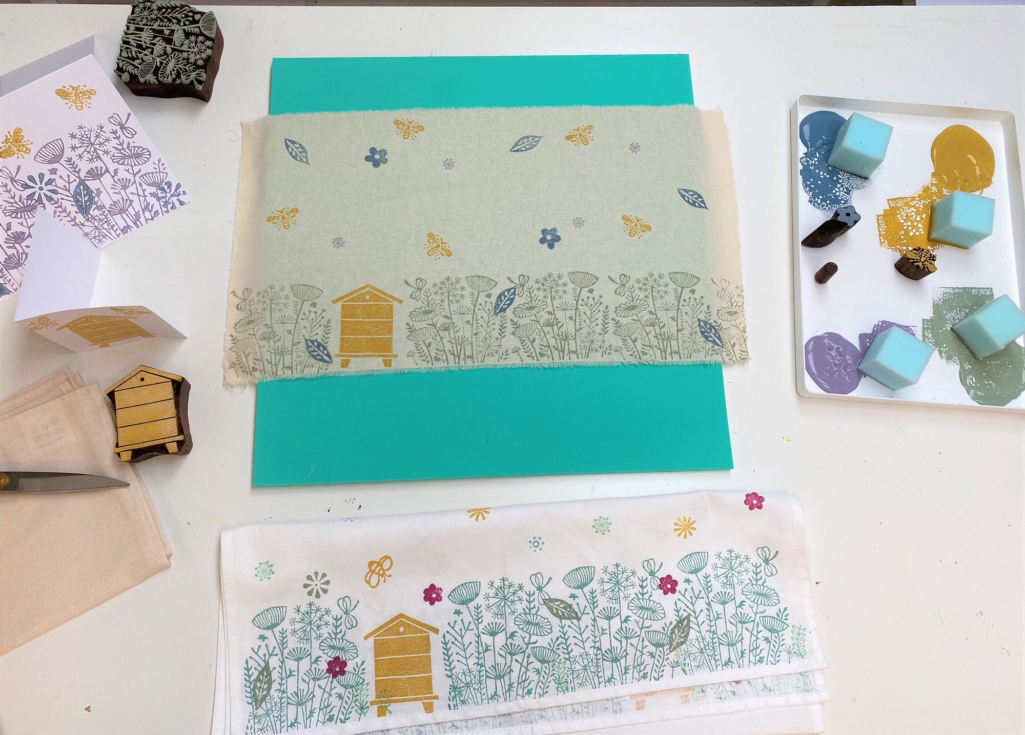 Video Tutorial- Meadow & Bee Hive Design