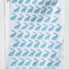 Sitting Hare Block Printed Tea Towel