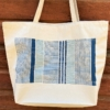Lines & Stripes Block Printed Maxi Bag