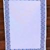 Block Printed Tea Towel- Blue Boho Kit