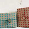 Block Printed Wrapping Paper- 9 Stars Design