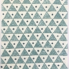 Block Printed Fabric- Small Solid Triangle
