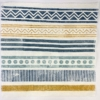 Block Printed Fabric- Border Designs