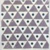 Block Printed Fabric- Medium Solid Triangle