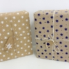 Star & Dot Design Christmas Wrapping Paper parcel 2