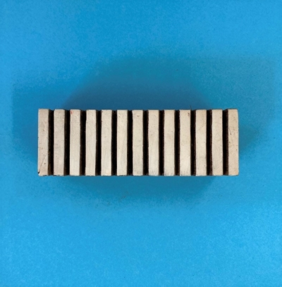 Indian Wooden Printing Block- Thick Solid Lined Border
