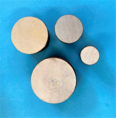 Indian Wooden Printing Blocks- Solid Circles