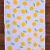 Indian Wooden Printing Block- Sunny Yellow Lemon Design