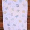 Indian Block Printed Tea Towel- Wild Seed Head Design