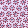 Indian Wooden Printing Block - 8 Petal Flower & Centre Sample