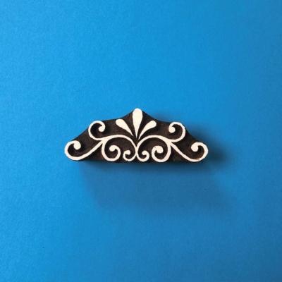 Indian Wooden Printing Block - Beautiful Embellishment