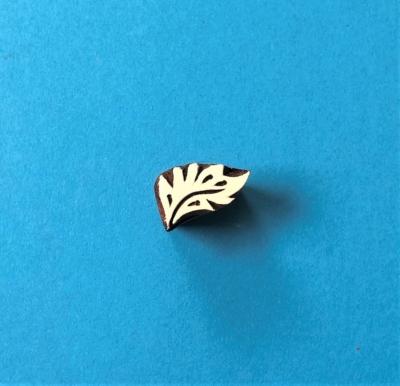 Indian Wooden Printing Block - Mini Fern Leaf