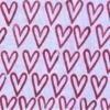 Indian Wooden Printing Block - Open Heart Sample