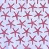 Indian Wooden Printing Block - Small Starfish Sample