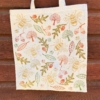 Indian Block Printed Tote Bag- Rustic Nature Design