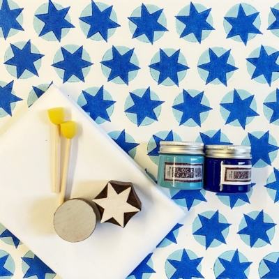 Block Print Kit- Dot & Star