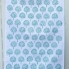 Block Printed Tea Towel- Teal Tree Block Print Kit